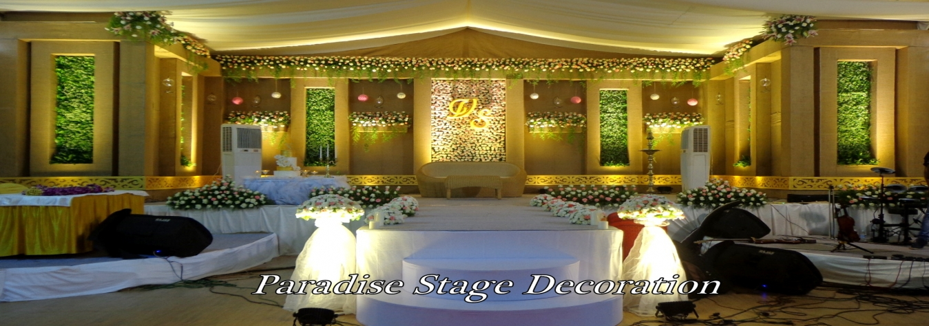 Best Stage Decoration In Kottayam